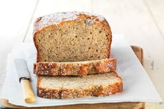Gluten-Free Quick & Easy Banana Bread made with baking mix Recipe - Food - Gluten Free Sweets backen recipes bread Healthy Gluten Free Bread Recipe, Gluten Free Baking Mix, Gluten Free Deserts, Gluten Free Banana Bread, Easy Banana Bread, Gluten Free Sweets, Easy Bread Recipes, Foods With Gluten, Banana Bread Recipes