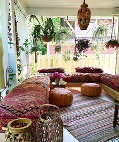 boho cozy corner...