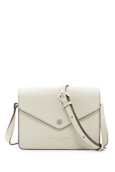 Image of Marc Jacobs Saffiano Leather Crossbody