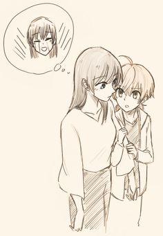 Anime Girlxgirl, Yuri Anime, Haikyuu Anime, Anime Art, Yuri Comics, Anime Comics, Citrus Manga, Midorima Shintarou, Anime Best Friends