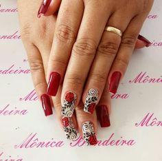 Uñas Love Nails, Earthy, Nail Art Designs, Diva, Valentines, Inspirational, Summer, Nail Arts, Gorgeous Nails