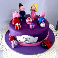 Piggy Birthday Family Cake In Panaji2400 Online Delivery Shimla