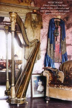my decor requires a harp . . .
