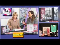 Cómo decorar estilo vintage con servilletas de papel (R) - YouTube