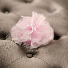 DIY Chiffon and Tulle Flower DIY Flowers DIY Crafts