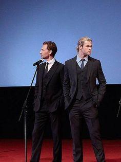 Tom Hiddleston & Chris Hemsworth | Hiddlesworth