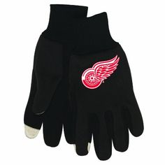 NHL Detroit Red Wings Technology Touch Gloves – Detroit Sports Outlet