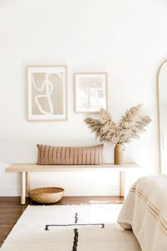 Monochromatic Room, Diy Home Decor For Apartments, Apartment Ideas, Apartments Decorating, Small Room Bedroom, Artwork For Bedroom, Diy Bedroom, Home Decor Inspiration, Decor Ideas