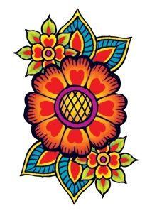 Hippy tat & colours
