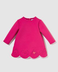 Vestido Agatha Ruiz de la Prada en rosa con leotardo