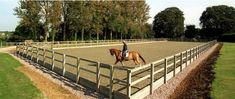 Most common mistakes when building an outdoor equestrian arena - great instructional.