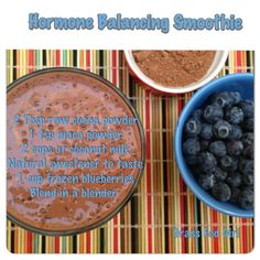 Benefits of Maca and Hormone Balancing Smoothie - It helps body handle and manage stress. Try this hormone balancing smoothie made with maca for breakfast. Maca Benefits, Smoothie Benefits, Avocado Health Benefits, Smoothie Drinks, Healthy Smoothies, Healthy Drinks, Smoothie Recipes, Healthy Food, Cacao Smoothie