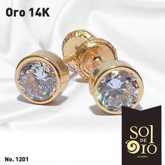 2caaacec4a44 Dormilona 14k gold en zirconia y disponible en Diamantes