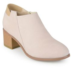 Women's Journee Collection Miley Faux Suede Ankle Booties -