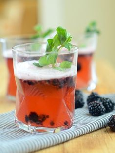 Joni - we need drinks! Blackberry-Lemon Shandies | 17 Refreshing Beer Cocktails You Need In Your Life