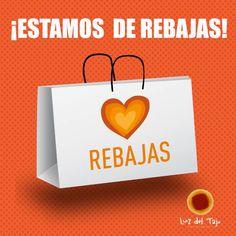 ¡Hoy empiezan oficialmente las #Rebajas¡No te las pierdas!