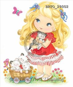 Alfredo, CHILDREN, paintings(BRTO28002,#K#) Kinder, niños, illustrations, pinturas Baby Painting, Fabric Painting, Cat Cards, Kids Cards, Cartoon Pics, Cartoon Drawings, Cute Images, Cute Pictures, Library Pictures