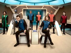 Seth McFarlane's THE ORVILLE Looks a Lot Like a STAR TREK Parody — GeekTyrant