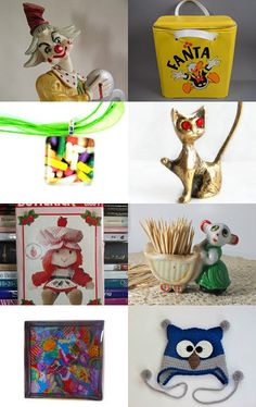 Kitschy and colorful an epsteam gratitude treasury by betsy durham on Etsy--Pinned with TreasuryPin.com