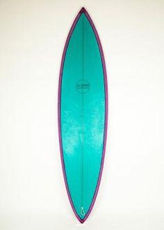 LA SINGLE Retro single par excellence, la board idéale pour surfer les beach breaks ! | dadasurf.com