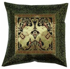 Indian decor handmade cushion