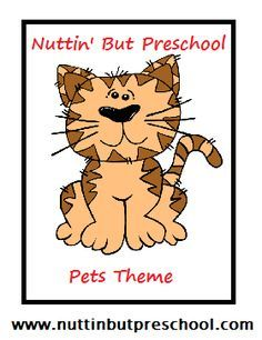 Pets Early Childhood Theme: ideas for songs, activities, art, and books