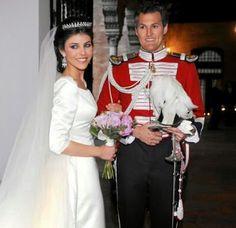 Fernando de Solis-Beaumont y Tello, of The Marquesses de la Motilla, and Eva Morejon Marques