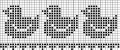 Filet crochet, ducks, crochet patterns, free, dolies, hat, crocheting, crochet charts and motifs - www.free-crochet-patterns.rucniprace.cz