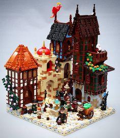 Isle of Aura Fagimburg by Brother Steven #lego #bulat #bulatlego #legostagram…