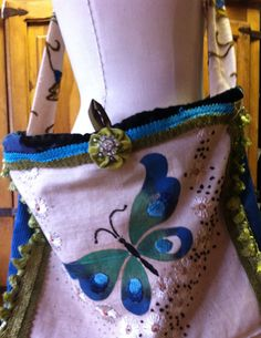 Butterfly boho bag on Etsy, $65.00