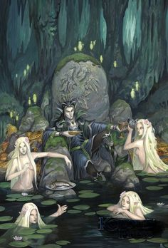 'Wrath of the River King' Now Available for D&D from Kobold Press - The Gaming Gang Fantasy Forest, Fantasy Races, Fantasy World, Dark Fantasy, Paladin, Warlock Dnd, Dungeons And Dragons, Pathfinder Rpg, Character Design