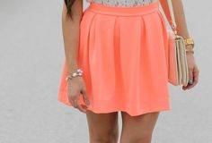 *-*, accessorize, colorful, fashion, girly, gold, inspo, outfit, purse, skirt, style, summer, watch
