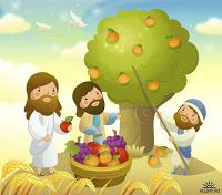 Imagens Fofas - Jesus e as Crianças Bible Stories For Kids, Bible Study For Kids, Bible Illustrations, Lord Is My Shepherd, Jesus Pictures, Cool Cartoons, Sunday School, Catholic, Character Design