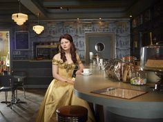 Belle from Once Upon A Time. FAVORITE TV SHOW.