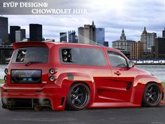 Custom Chevy HHR Old Muscle Cars, American Muscle Cars, Big Trucks, Chevy Trucks, Chevy Hhr, Chevy Vehicles, Panel Truck, Gm Car, Chevelle Ss