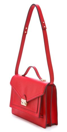 The Rider Bag - Loeffler Randall. I ride a bike. So this was made with the express purpose of coming home to live with me, right?