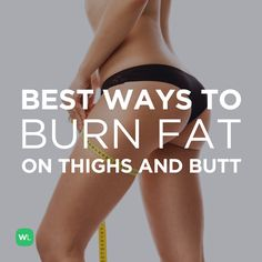 What is the best way to burn fat on my inner thighs and butt? Fitness advice from WorkoutLabs Fitness Tips, Fitness Motivation, Health Fitness, Workout Fitness, Fat Workout, Ways To Burn Fat, How To Lose Weight Fast, Losing Weight, Burn Thigh Fat