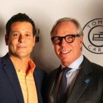 GDIFF Founder Bill Sorvino and Tommy Hilfiger at Kick Off Party for this years festival  www.riverviewobserver.net