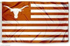Texas Longhorns with stripes Flag FT NCAA Banner Polyester Custom flag grommets shipping Texas Longhorns Football, Ut Longhorns, Dallas Cowboys, Texas Rangers, Ut Football, Collage Football, Hook Em Horns, Motorcycle Paint Jobs, Banner