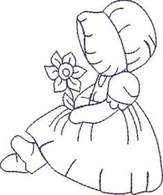 ♥ downloaded - lots of free designs   CAD_Sunbonnet Spring