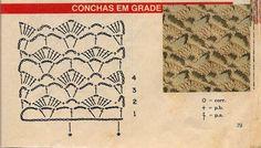 Celeida Ribeiro: Top cropped de crochê!