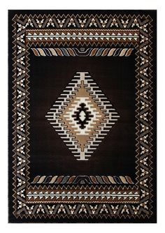 South West Native American Area Rug Design Kingdom D 143 Chocolate (8 Feet X 10 Feet) *** You can get additional details at the image link. (This is an affiliate link) #HomeDecorTips