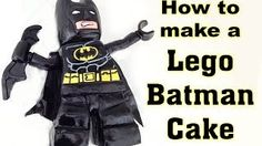 YouTube Lego Batman Cakes, Lego Batman Movie, Batman Party, Superhero Cake, Funny Birthday Cakes, 5th Birthday, Cooking Panda, 3d Cakes, Specialty Cakes