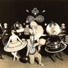 Oskar Schlemmer's Triadisches Ballet (Triadic #Ballet) of 1922 was a dance in three parts whose geometrically …