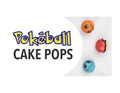 My friend Emily made Pokéball Cake Pops!