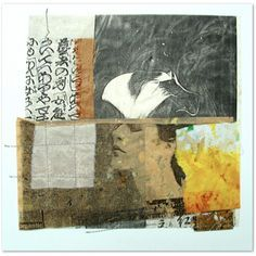 Interior Series - Joan Schulze, mixed media quilt, collage, and fiber artist and poet Create Collage, Mixed Media Collage, Collage Art, Paper Drawing, Painting & Drawing, Collages, Abstract Art, Abstract Paintings, Textile Artists