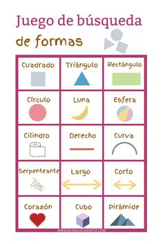 Scavenger Hunt Lists in Spanish, English & French - FREE Printables