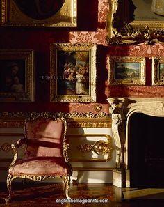 Detail of Waterloo Gallery in Apsley House