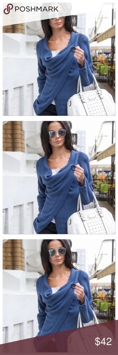 COMING SOON Beautiful light sweater cardigan. Has just enough detail to give it some style. I'm not a fan of a white bag but I love this look! Bust is 89cm, length is 86cm, sleeves are 59cm. The material is cotton. Sweaters Cardigans