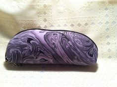 Black Grey Lavendar Marble Mod Eleaf Cool Fire Seigel ECig Vape Case Handmade